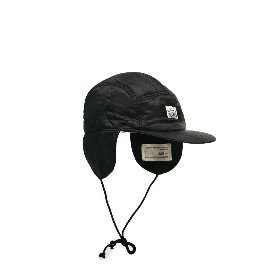 [빅유니온]Big Union_BU M 퀼티드 이어캡 블랙 BU M Quilted Ear Cap Black