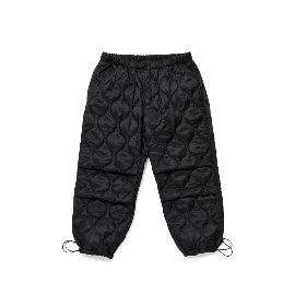 [빅유니온]Big Union_BU M 퀼티드 팬츠 블랙 BU M Quilted Pants Black