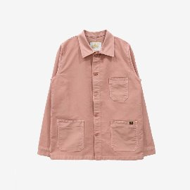 [르 몽생미셸] LE MONT SAINT MICHEL _GENUINE WORK JACKET ASH PINK (MENS)