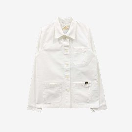 [르 몽생미셸] LE MONT SAINT MICHEL _GENUINE WORK JACKET OFF WHITE (MENS)