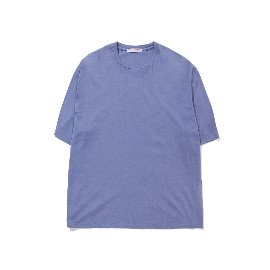 [포터리]POTTERY_'Short Sleeve Basic T-Shirt  Slate Blue